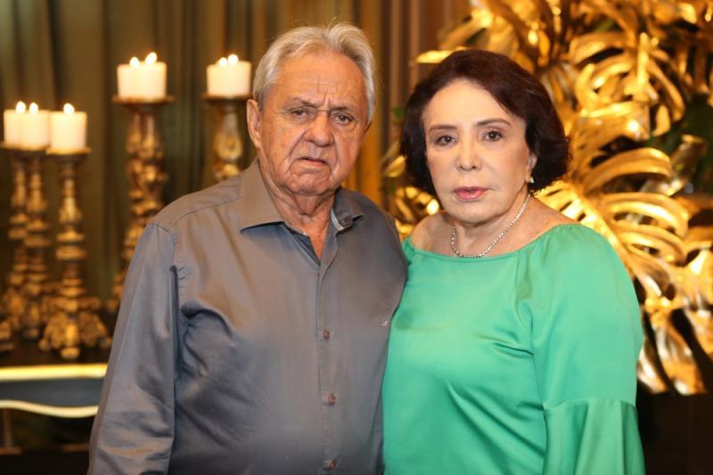 Jose Nogueira e Luisa Rolim