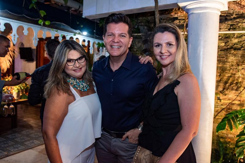 Ana Pinheiro, Gustavo Serpa e Alexia Fontes