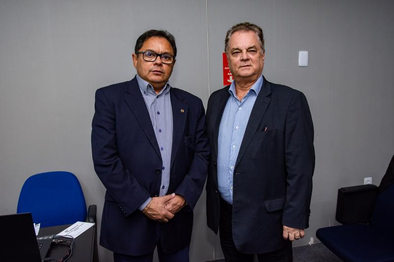 Luis Sergio e Bernardo Peixoto