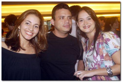 Katrine Soares, Marcelo Melo e Sandra Braga