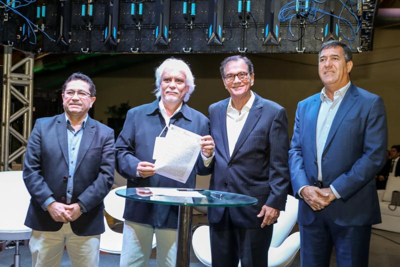 Alci Porto, Joaquim Cartaxo, Beto Studart e Luis Gastao Bitencurt