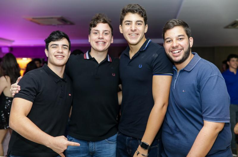 Lucas Brasil, Luiz Cidrao, Joao Moreira e Caio Fontenele