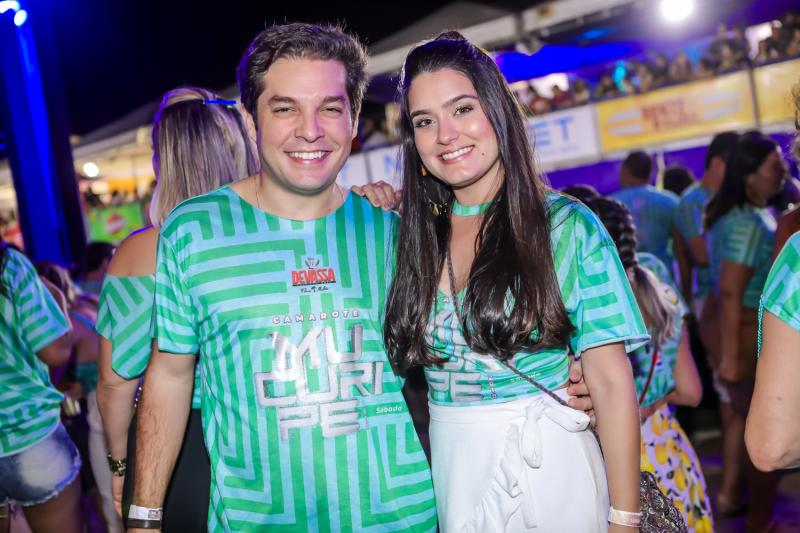 Celso Thomas e Jade Gonzales