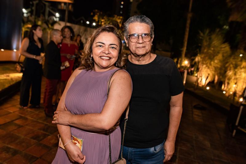 Irine Rodrigues e Joao Fontenele