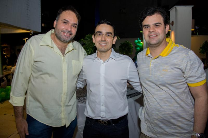 Leonardo Seabra, Marcio Magalhaes e Sulier Junior