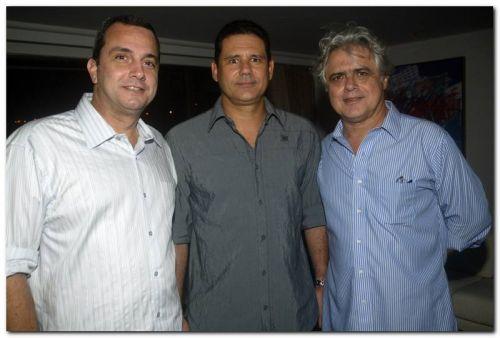 Kalil Otoch, Marcos Medeiros e Osler Machado