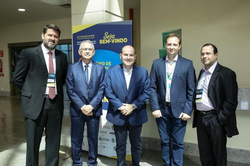 Rafael Rodrigues,Nilson Diniz, Roberto Claudio, Gustavo Bertolini e Igor Barroso