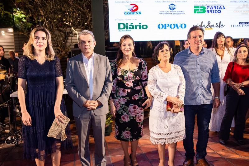 Onelia Leite, Sarto Nogueira, Patricia Macedo, Neuma Figueiredo e Samuel Dias