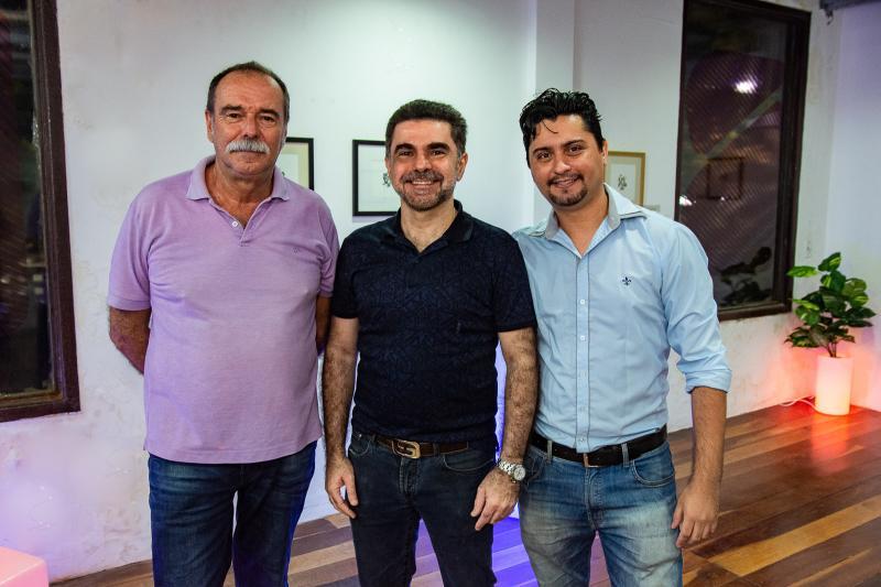 Marcilio Mariaque, Isaac Furtado e Vanger Santos
