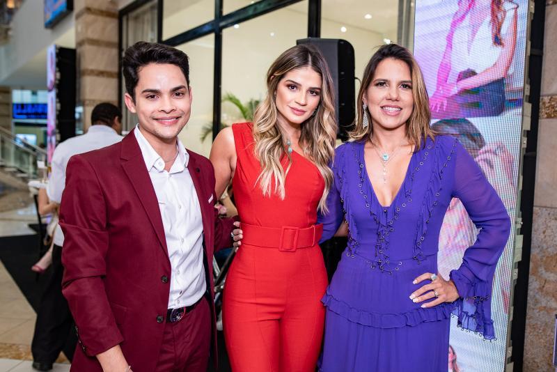 Antonio Felipe, Thassia Naves e Ana Carolina Fontenele