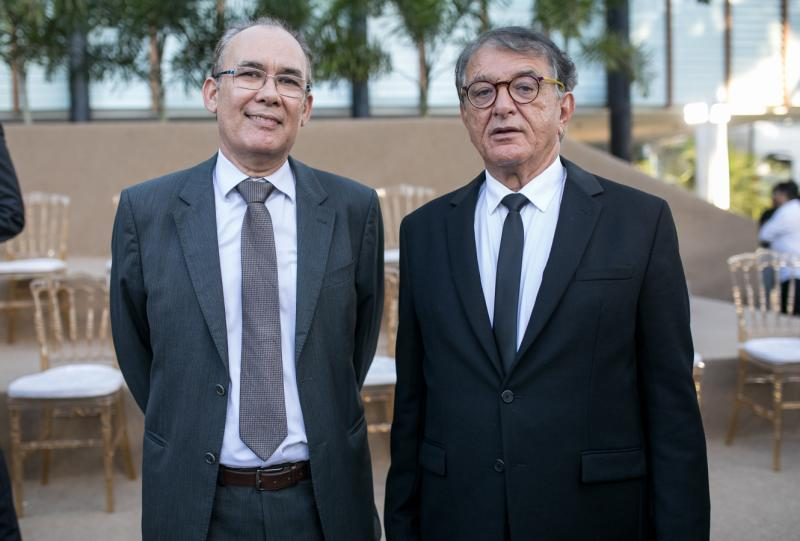 Francisco Teixeira e Arialdo Pinho