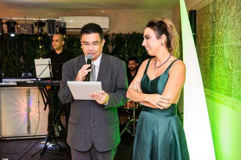 Paulo Henrique e Mabel Portela