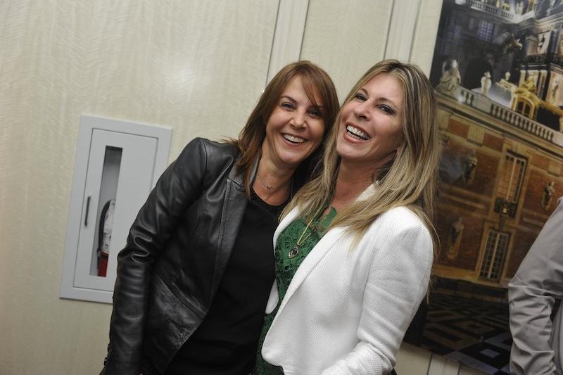 Cris Armentano e Sandra Camargo
