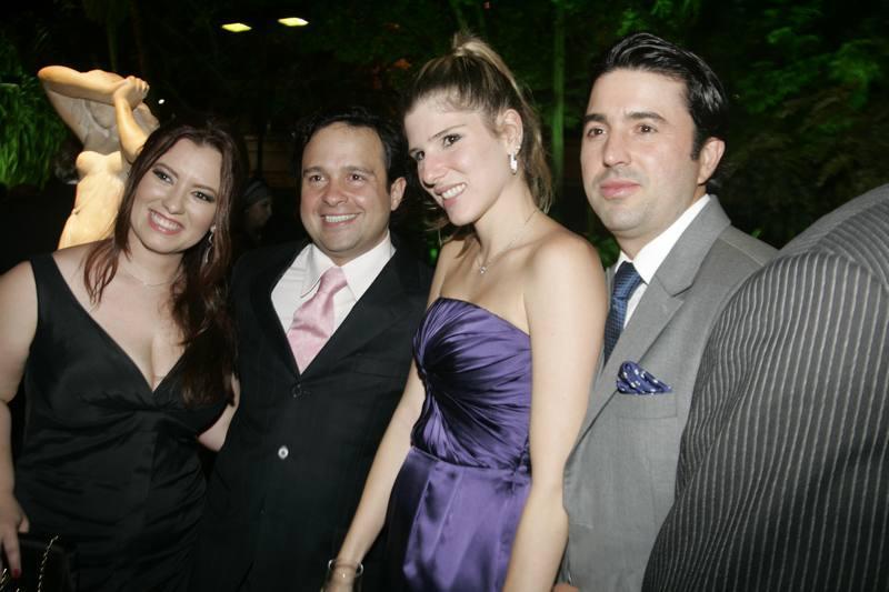 Aline Felix, Igor Queiroz, Uliana e Daniel Machado