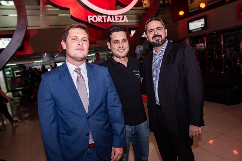 Rafael Furtado, João e Amilton Sobreira