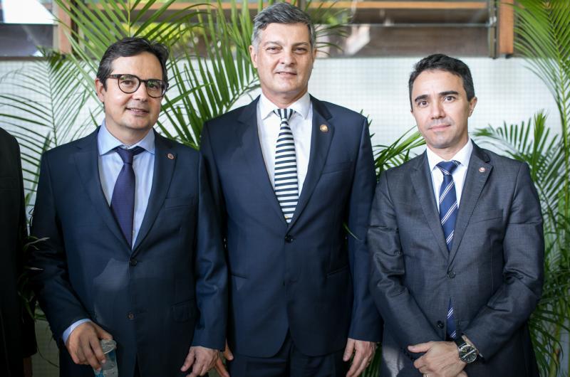 Edilberto Pontes, Cid Marconi e Placido Rios