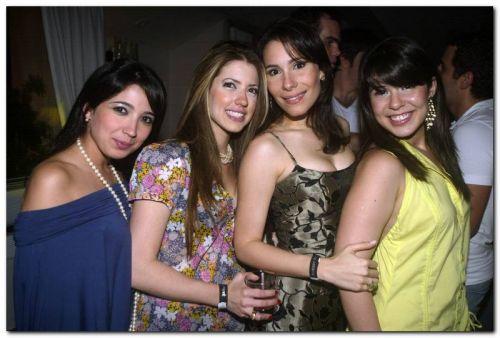 Renata Cavalcante, Raquel Macedo, Celina Mororo e Lissa Aguiar