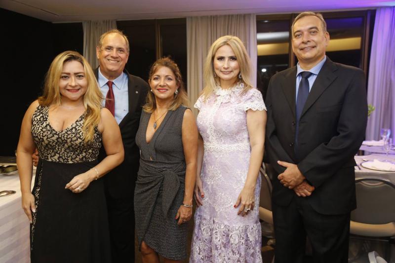 Anita Erika, Pedro e Ivana Perez, Linda Nunes e Madson Cardoso