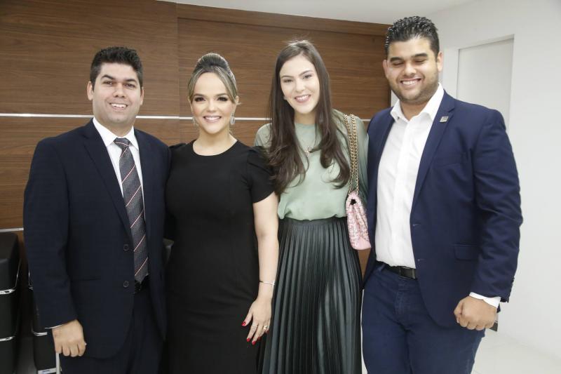 Mauro Neto, Keliane, Gabriela e Davi Benevides