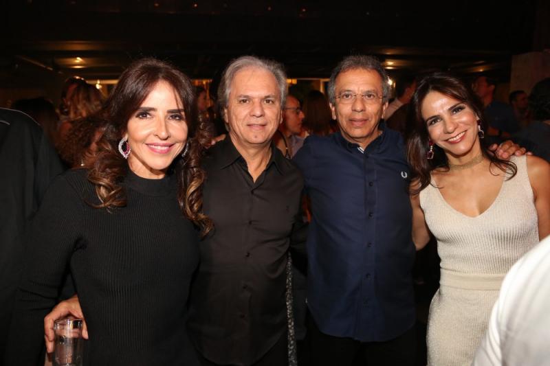 Denise, Ricardo, Eduardo e Sandra Rolim