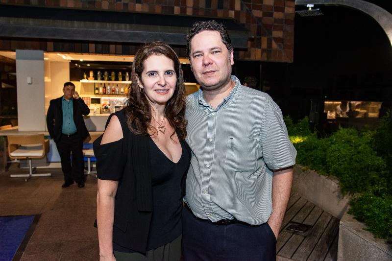 Carla Melo e Marcus Maia