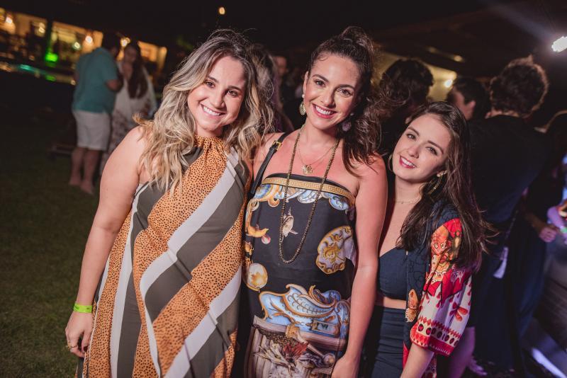 Roberta Fernandes, Milena Holanda e Juliana Lima