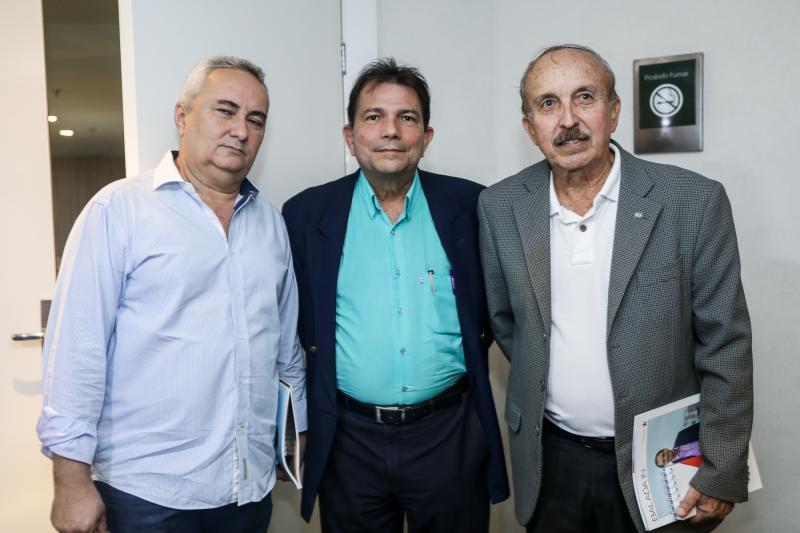 Francisco Pontes, Fernando Castro Alves e Paulo Guerra