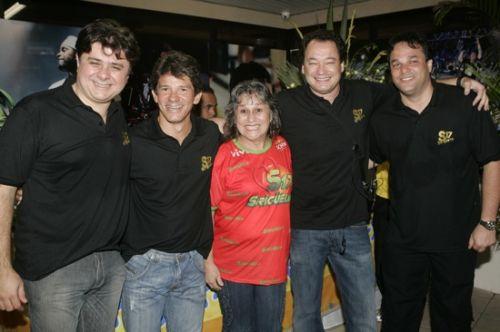 Alexandre Frota, Carvalhinho, Angela Moraes Correia, Pedro Neto e Enio Carlos