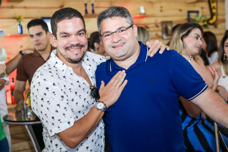 Kaka e Mario Queiros