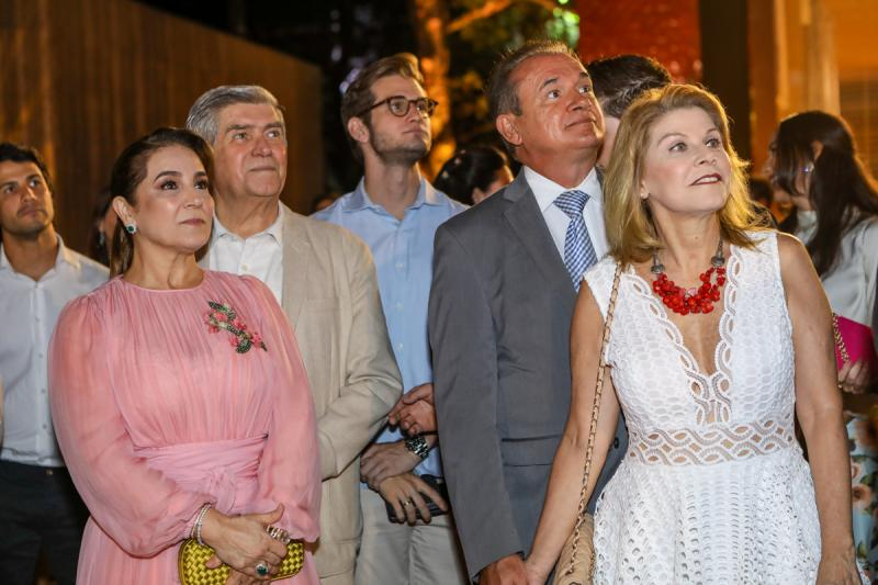 Patricia, Amarilio e Levi Macedo, Washingto e Rosangela Araujo