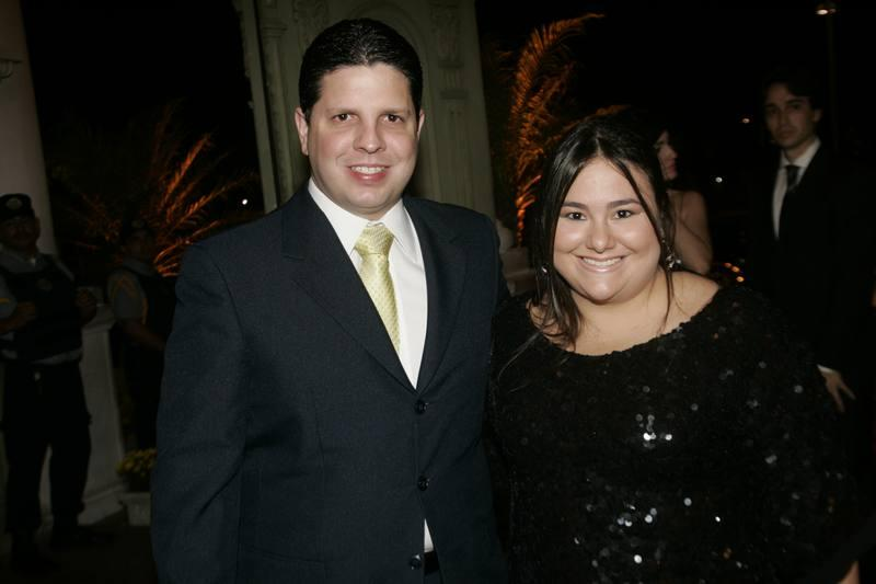 Homero e Mayara Silva
