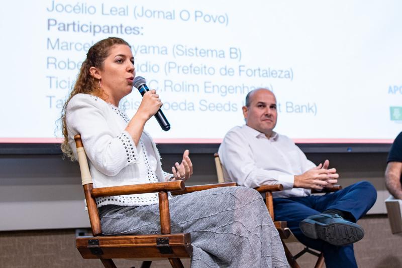 Ticiana Rolim e Roberto Claudio