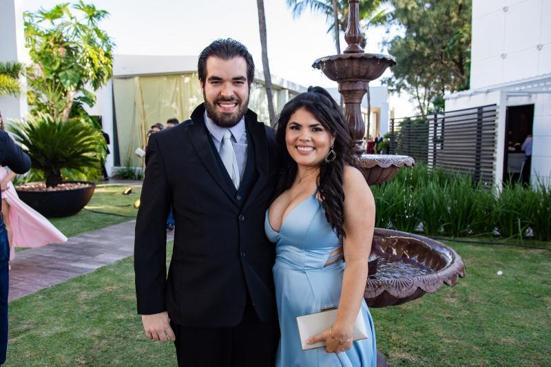 Andre Valente e Jessica Lima