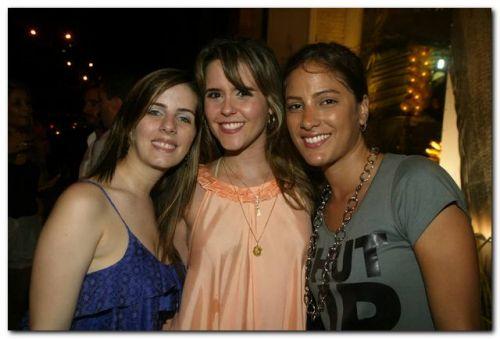 Flavia Machado, Cristina Brandao e Myrtes Matos