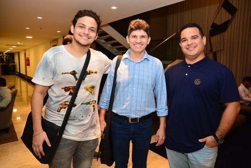Matheus Batista, Guilherme Said e Johny Esdras