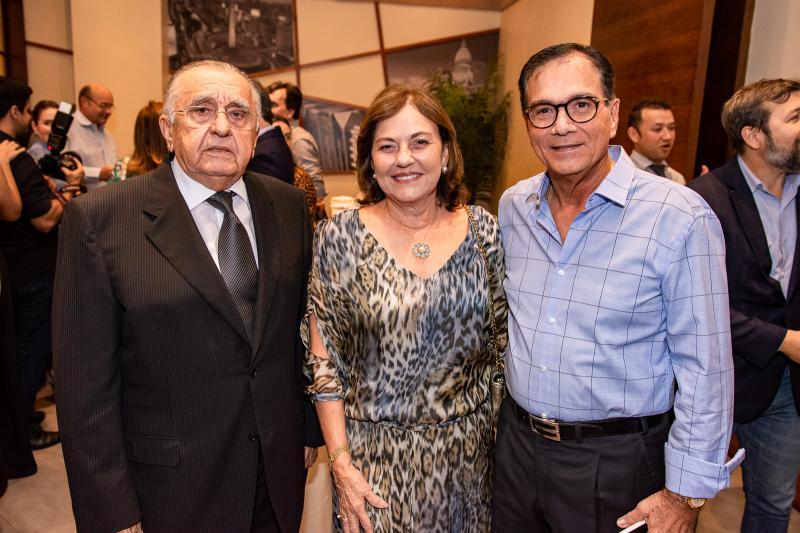 Joao Carlos Paes Mendonca, Ana Studart e Beto Studart