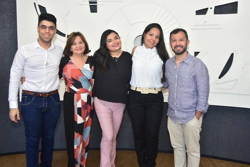 Jean Diniz, Mirian Pinheiro, Vanessa Sousa, Elaine Gomes, Lucilio Lessa