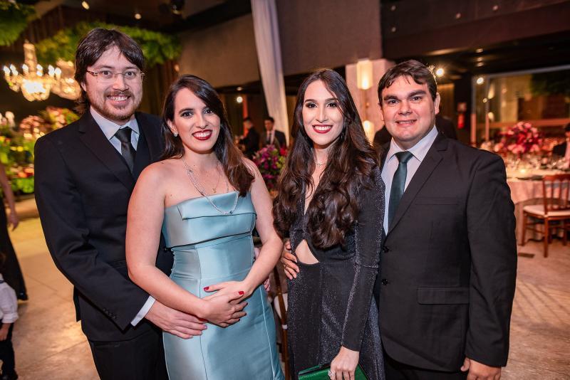 Matheus Romcy, Natalia Romcy, Catarina Carvao  e Daniel Atilia