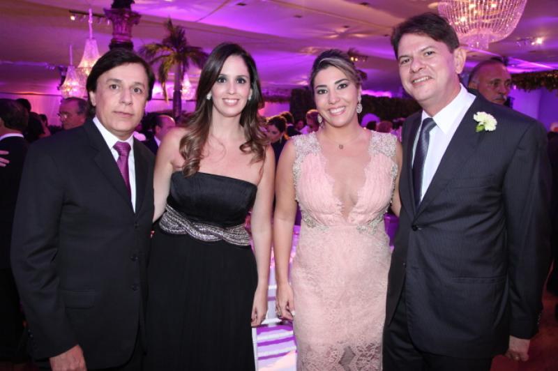 Tom e Patricia Cavalcante, Maria Celia e Cid Gomes