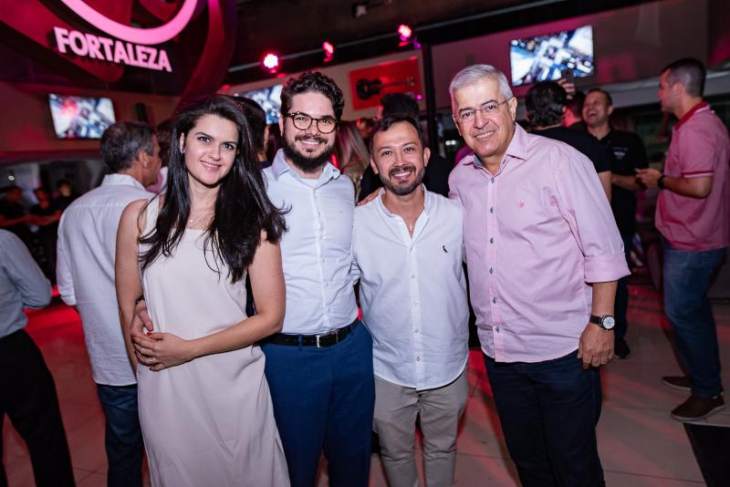 Carolina E Tomás Bianchi, Lucílio Lessa e Paulo César Norões