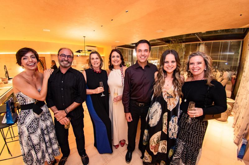 Marcus Novais, Vania Franck, Fernando Novais, Ana Virginia Furlani e Beatriz Perlingeiro