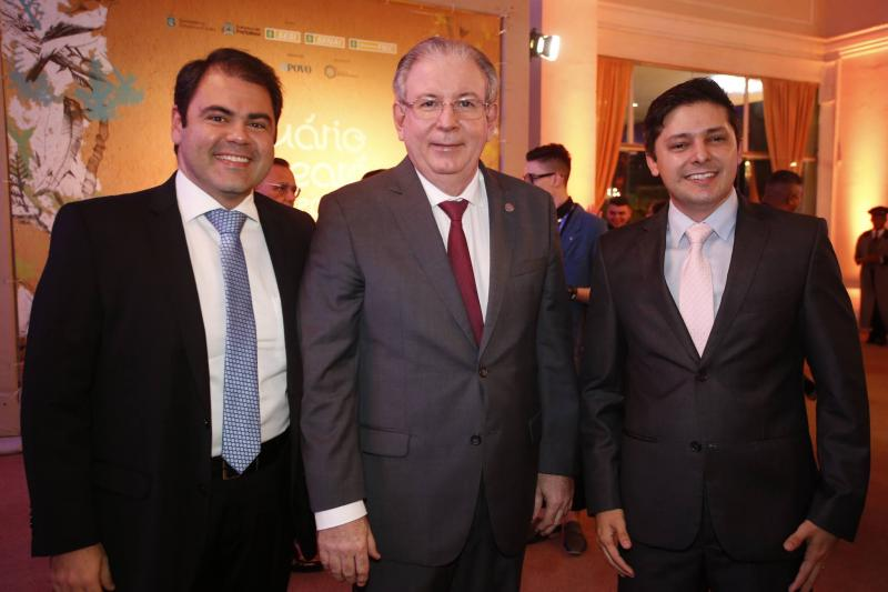 Marco Aurelio Cabral, Ricardo Cavalcante e Daniel Rios