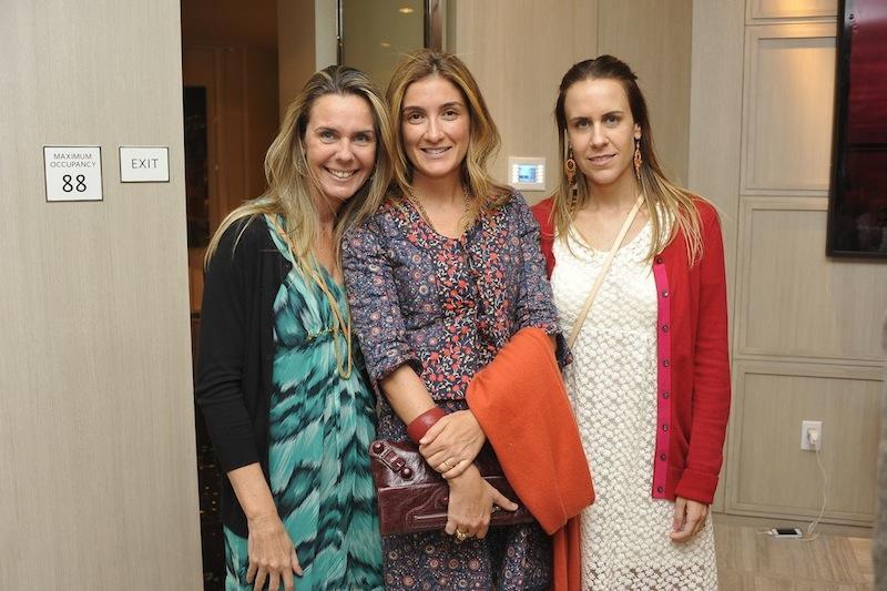 Maria Paula Brasil, Marina Linhares, Maria Claudia Brasil