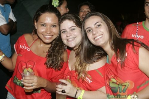 Raquel Meira, Fernanda Teixeira e Bel Azevedo
