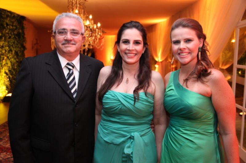 Alcimor Rocha, Fabiola Cals e Samia Gondim