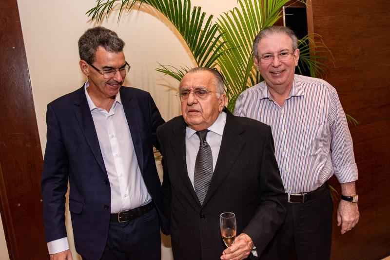 Geraldo Luciano, Joao Carlos Paes Mendonca e Ricardo Cavalcante