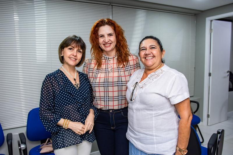 Circe Jane, Enid Camara e Tania Damasceno