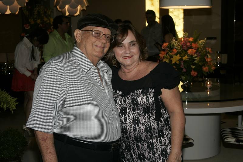 Zenilo e Miriam Almada