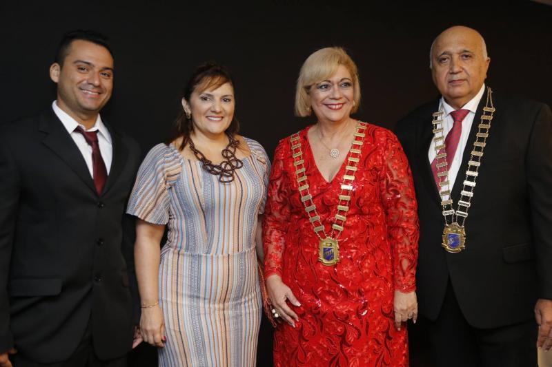 Alex Rocha, Eveline Tabosa, Priscila Cavalcante e Epitacio Vasconcelos