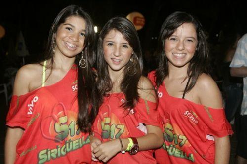 Iorrana Gomes, Cica Manarino e Alessandra Facanha